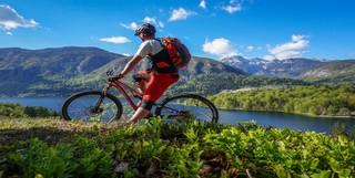 Mountain bike one-day trip in Bohinj, Slovenia