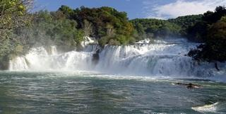 Waterfalls of Krka River, Dalmatia hinterland
