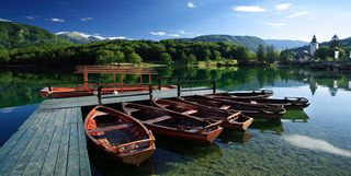 Activities around Bohinj Lake, Slovenia