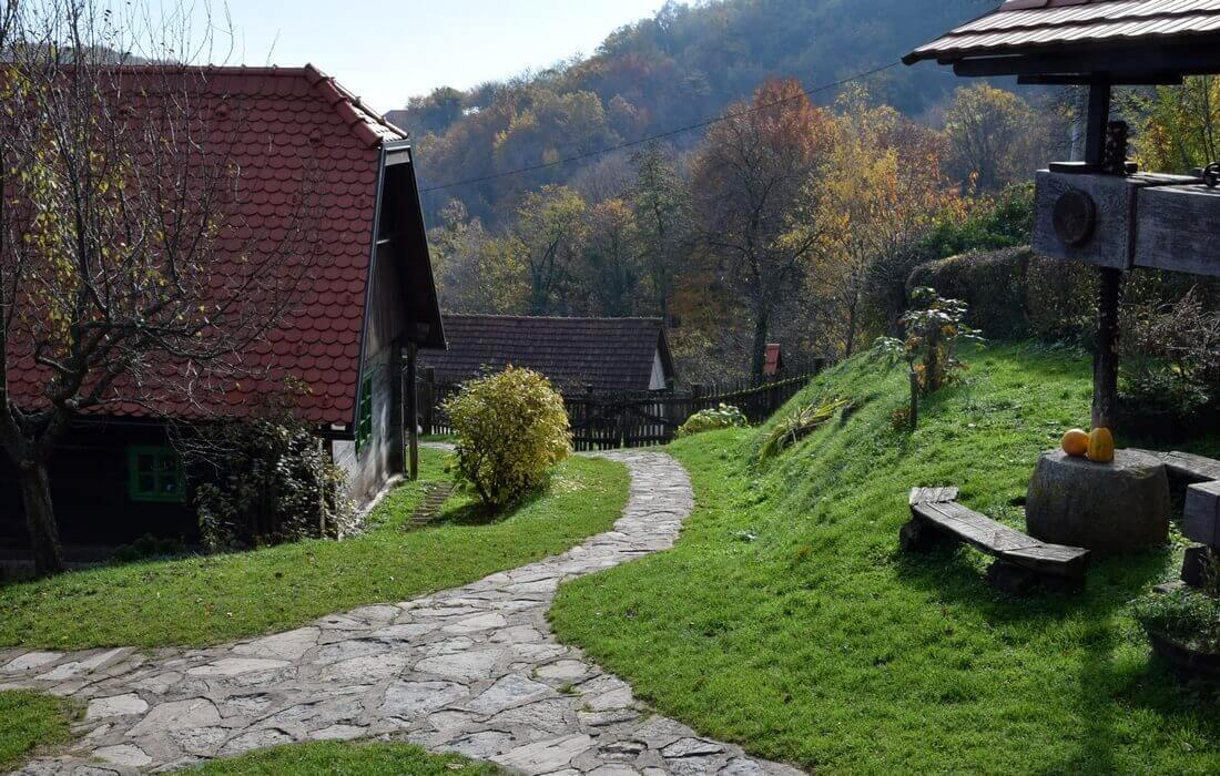 Authentic Village Setting in Northwestern Croatia