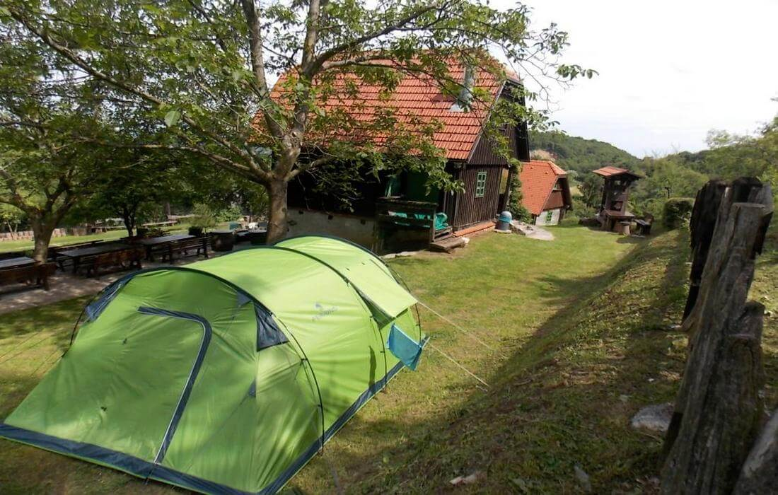 Extraordinary camping-site, Farmhouse Pod Okicem