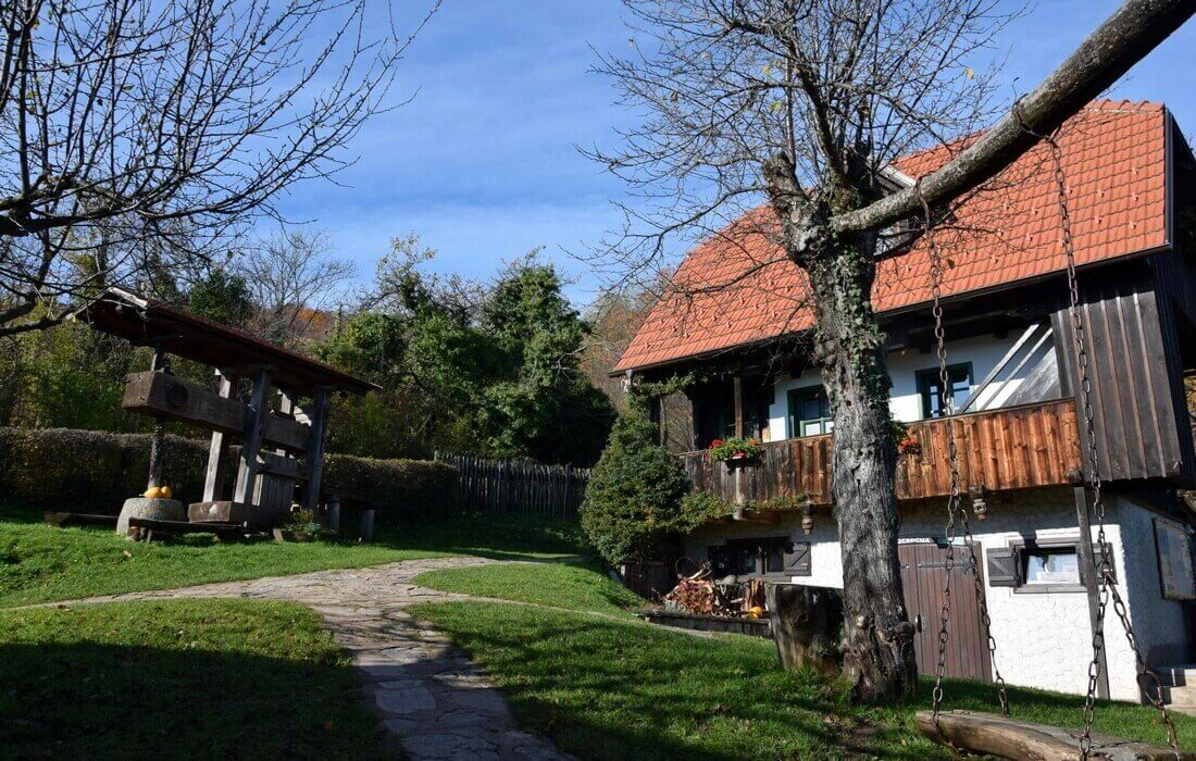 Traditional rural farm stay near Zagreb, Croatia