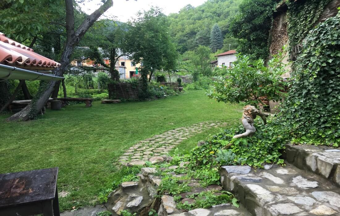 Fairy-tale garden from House Bajka, Zagreb County