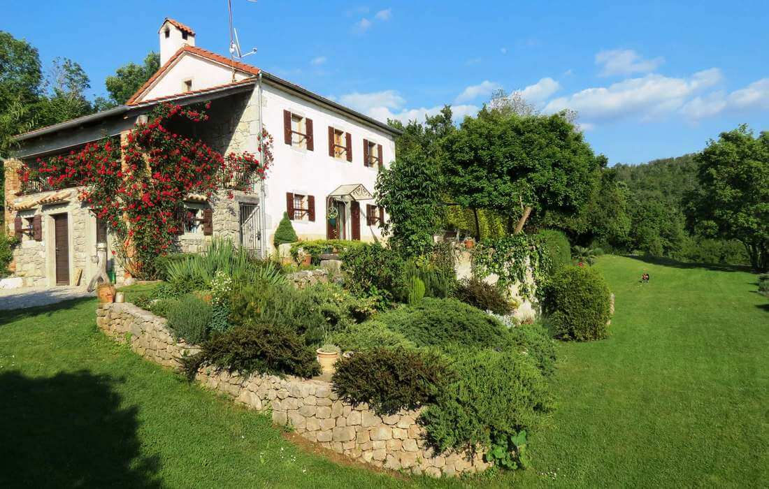 Traditional Istrian stone house for rental, Croatia