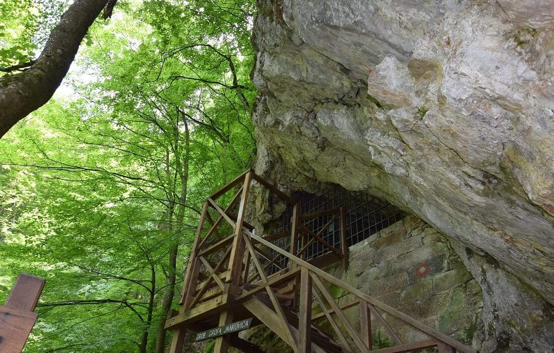 The grave of the Count Jankovic in a cave - Nature Park Papuk, Slavonia