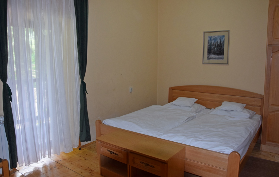 Double room in mountain lodge Jankovac, UNESCO Geopark Papuk