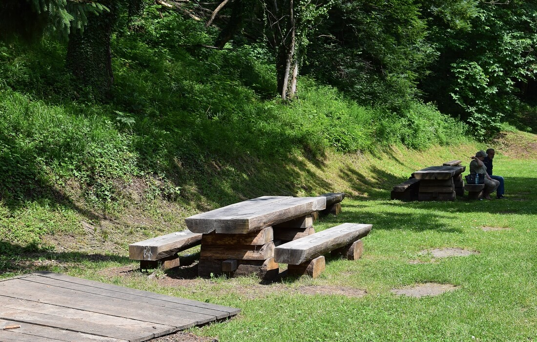 Relaxing place outdoor - Nature Park Papuk, Jankovac