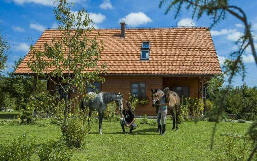 Living with the horses and think green - life philosophy of the Ranch Jelov Klanac