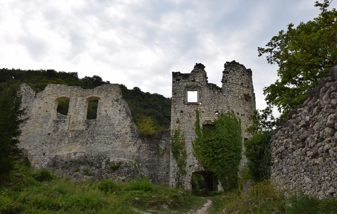 Ruins of the Old Town – Stari Grad Samobor