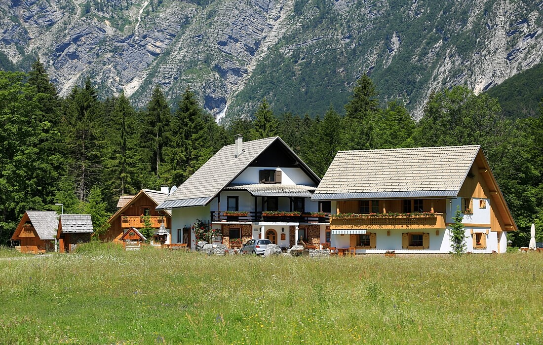 Apartments & Chalets Alpik, near Lake Bohinj, Slovenia