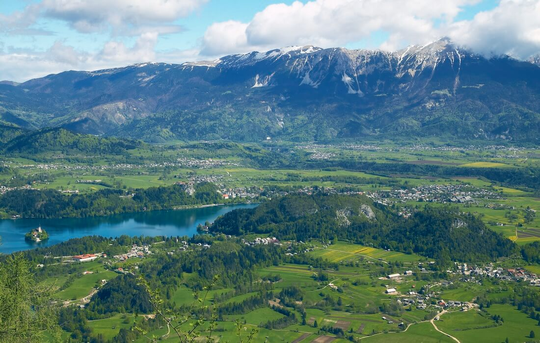Explore the area of Bled and its attractions