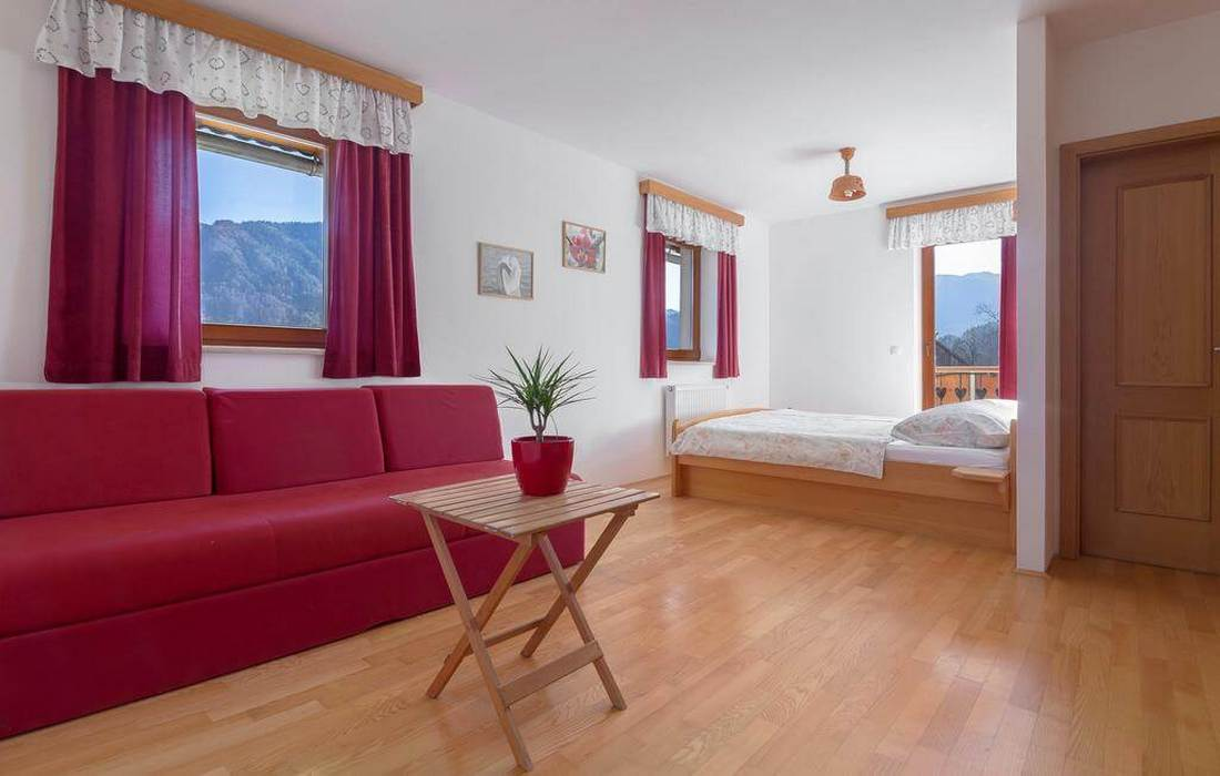 Double room with pull-out couch, Tourist Farm Mulej