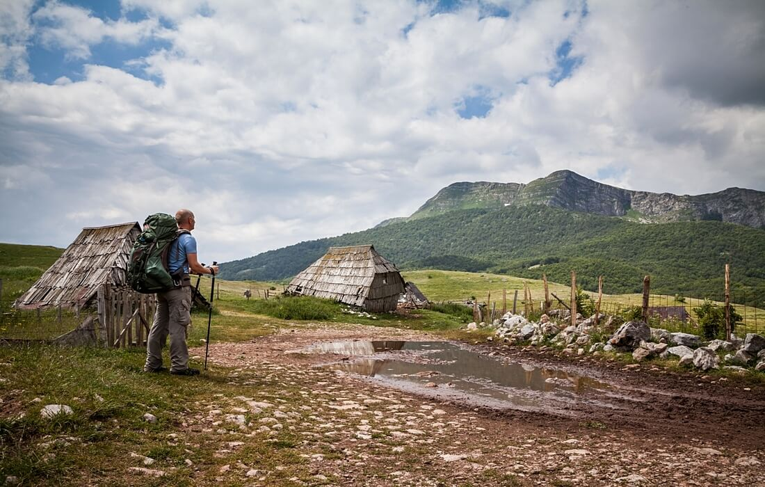 Bjelasnica highland villages hiking tour