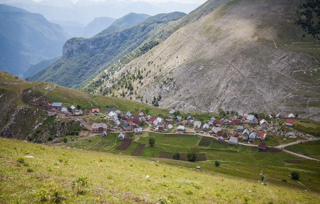 Highland village Lukomir in Bosnia-Herzegovina