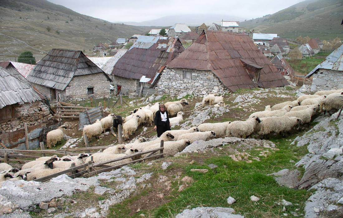 Mountain village Lukomir - the highest in Bosnia-Herzegovina