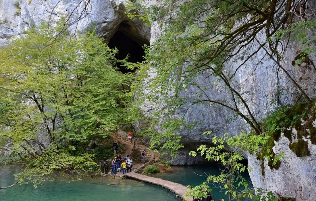 Large number of caves in Croatian national parks