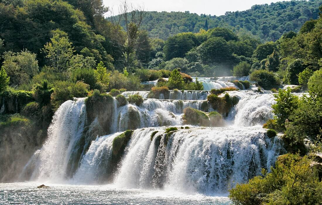 National Park Krka with its stunning waterfalls