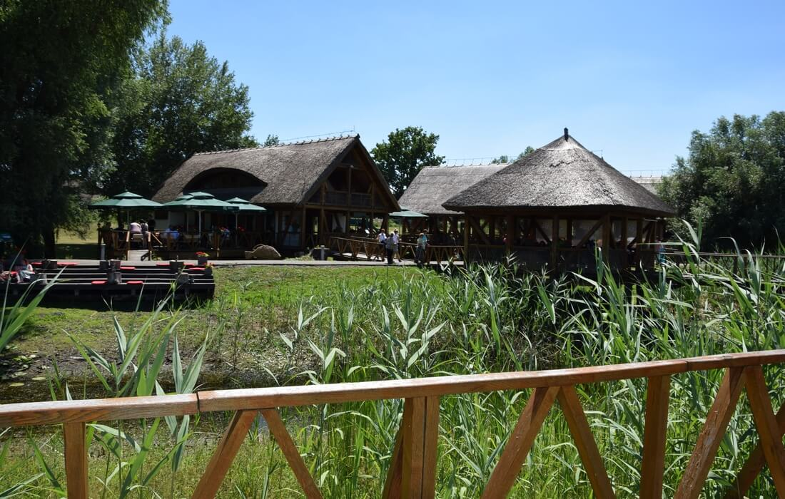 Cafes inside the Kopacki Rit Nature Park, Baranja