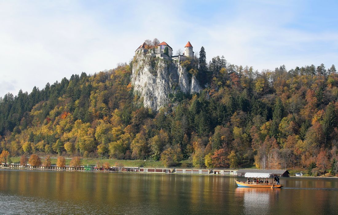 Bled Castle - symbol of Bled and Slovenia