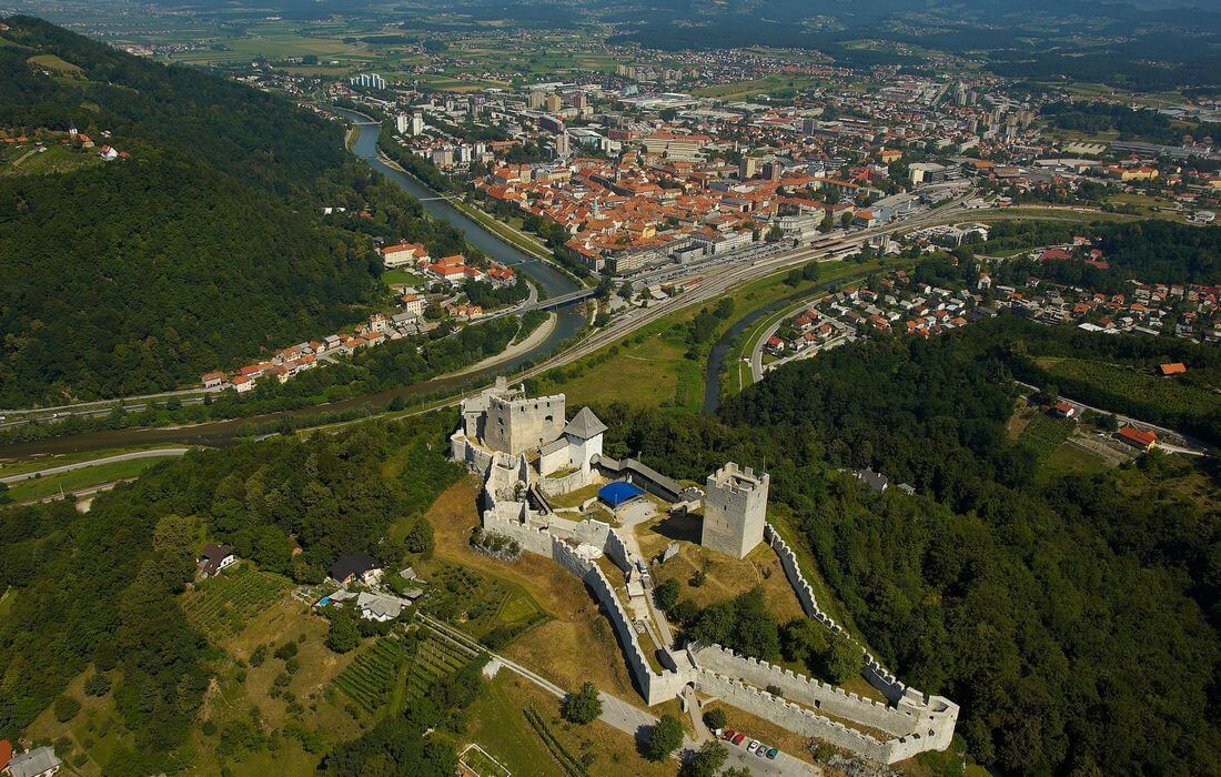 Old Castle Celje and its famous family