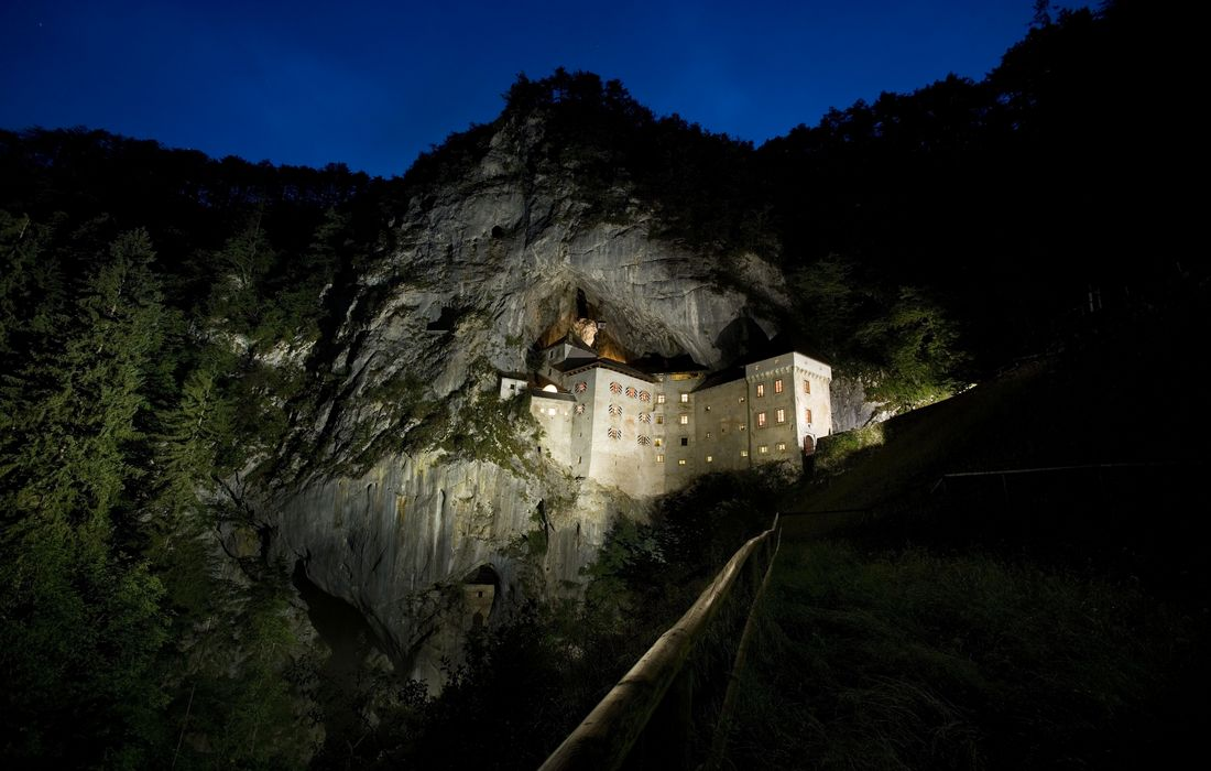 Mysterious tunnels of Predjama Castle