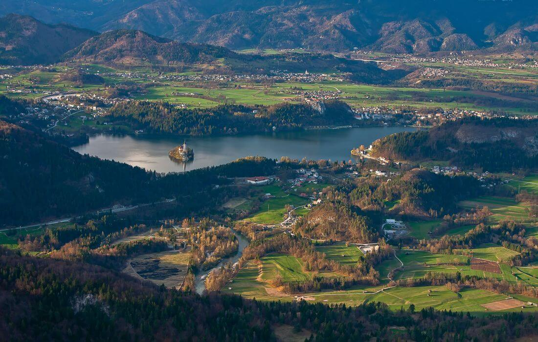 Lake Bled - Family cycling destination