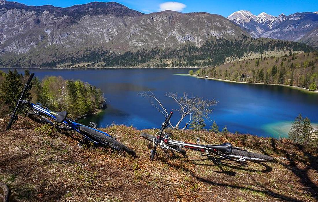 Mountain biking experience in Bohinj region