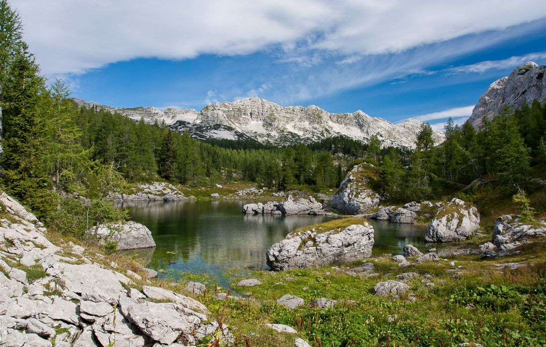 Valley of Triglav seven lakes